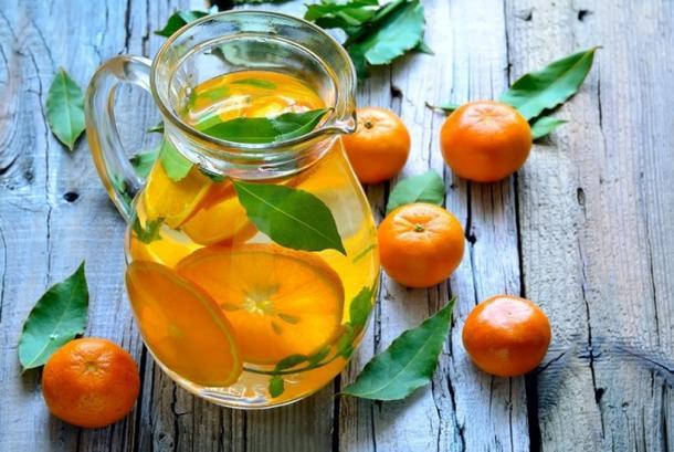 Лимонад мандариновый собственного приготовления