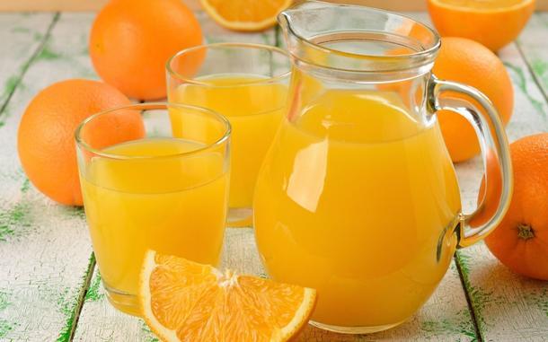 Лимонад апельсиновый собственного приготовления